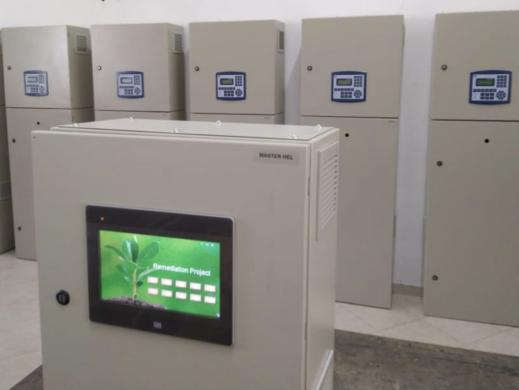 Hochtemperatursysteme zur Sanierung von Industriebrachen